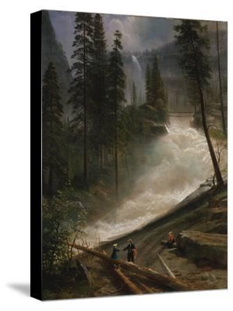 Nevada Falls, Yosemite, 1872 or 1873