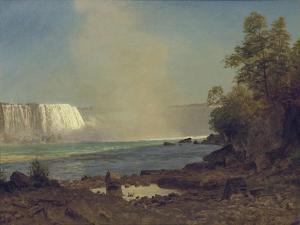 Niagara Falls, 1863 by Albert Bierstadt