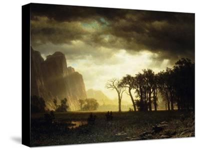 Passing Storm in Yosemite, 1865