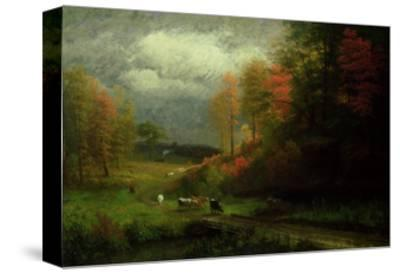 Rainy Day in Autumn, Massachusetts, 1857