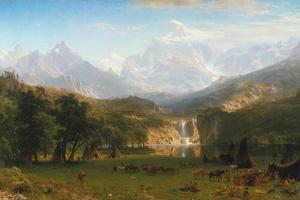 Rocky Mountains, Lander's Peak, 1863 by Albert Bierstadt