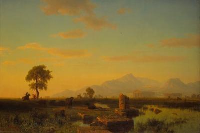 Ruins of Paestum, 1858