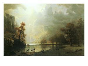 Sierra Nevada Morning by Albert Bierstadt