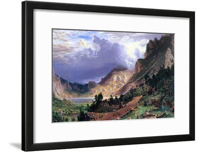 Storm in the Rockies, Mt. Rosalie