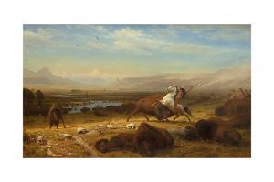 The Last of the Buffalo, 1888 by Albert Bierstadt