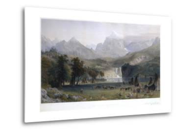 The Rocky Mountains, Lander's Peak