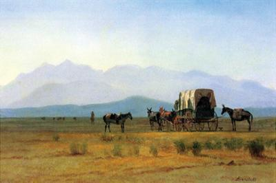 The Stagecoach in the Rockies