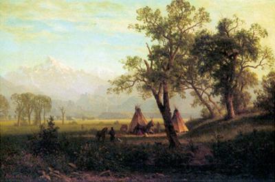 Wind River Mountains in Nebraska