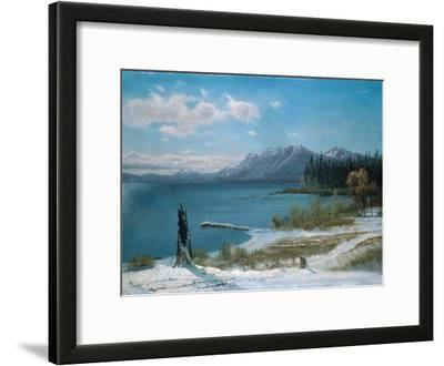 Winterly Lake Tahoe