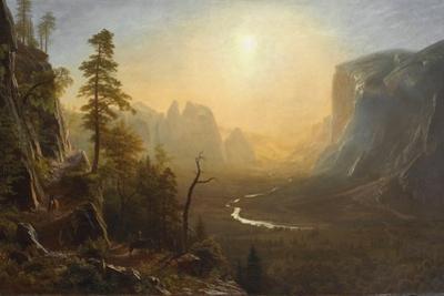 Yosemite Valley, Glacier Point Trail, c.1873 by Albert Bierstadt