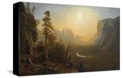 Yosemite Valley, Glacier Point Trail, ca. 1873