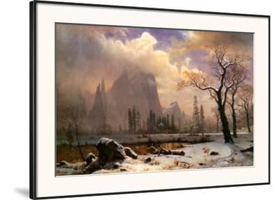 Yosemite Winter Scene