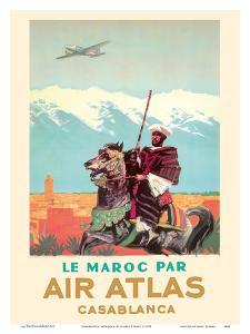 Casablanca, Morocco - by (Le Maroc Par) Air Atlas by Albert Brenet