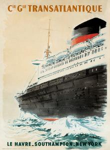 Compagnie Transatlantique by Albert Brenet