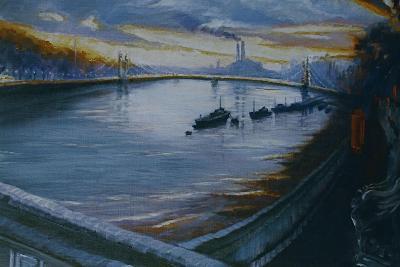 Albert Bridge, Chelsea 2000-Lee Campbell-Giclee Print