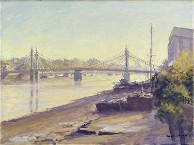 Albert Bridge-Julian Barrow-Giclee Print