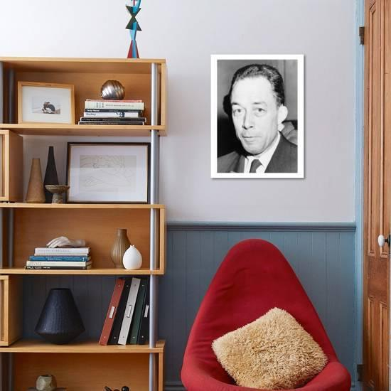 Albert Camus Algeria Born French Author And Recipient Of The 1957 Nobel Prize For Literature