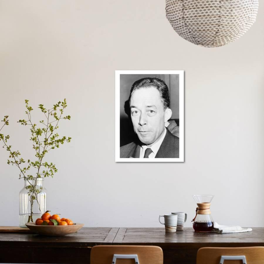 Albert Camus Algeria Born French Author And Recipient Of The 1957 Nobel Prize For Literature Photo By