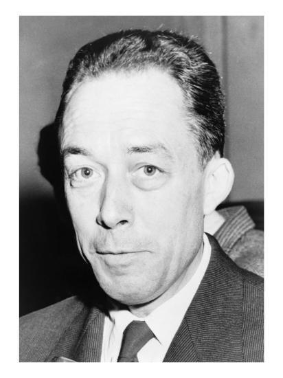 Albert Camus Algeria Born French Author And Recipient Of The 1957 Nobel Prize For Literature