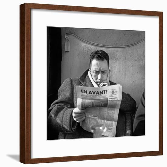 Albert Camus--Framed Photo