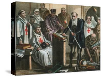 Galileo Galilei before the Holy Office
