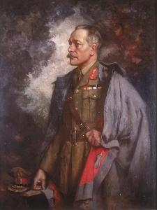 Field Marshall the Earl Haig, 1920 by Albert Chevallier Tayler