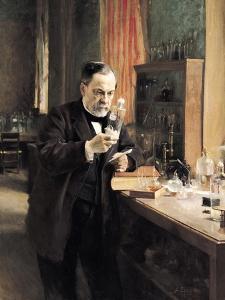 Louis Pasteur (1822-95) in His Laboratory, 1885 by Albert Edelfelt