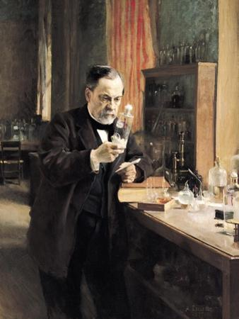 Louis Pasteur (1822-95) in His Laboratory, 1885