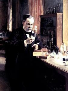 Louis Pasteur, 1885 by Albert Edelfelt