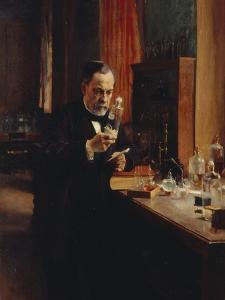 Portrait of Louis Pasteur by Albert Edelfelt