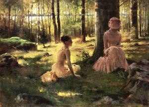Under the Birches by Albert Edelfelt