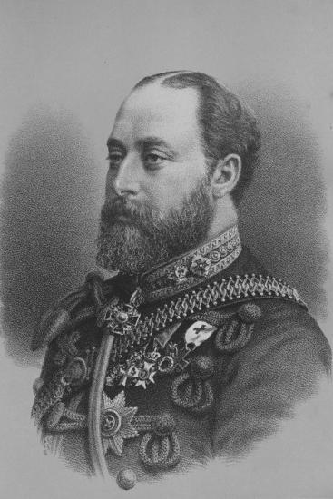 Albert Edward, Prince of Wales, c1880 (1936)-Unknown-Giclee Print
