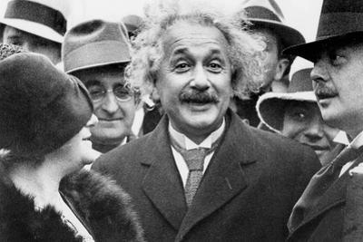 Albert Einstein (1879-1955) Physician Author of the Relative Theory and His 2nd Wife Elsa Lowenthal