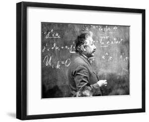 Albert Einstein (1879-1955) Swiss Physicist (German Born) C. 1930