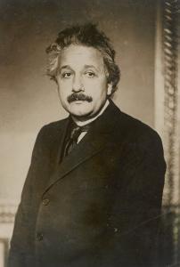 Albert Einstein German Born Physicist Winner of the Nobel Prize for Physics in 1921