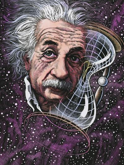 Albert Einstein, German Physicist-Bill Sanderson-Photographic Print