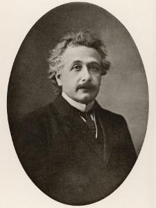 Albert Einstein in 1922