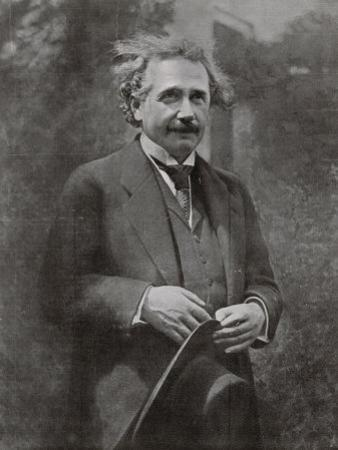 Albert Einstein Scientist During His Visit to Paris in 1922