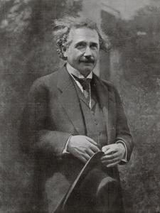 Albert Einstein Scientist During His Visit to Paris in 1922