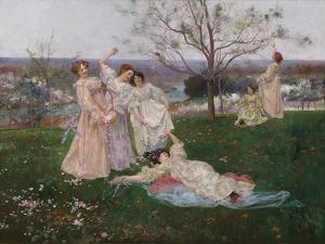 Spring Flowers, c.1897 by Albert-Emile Artigue