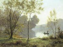 Late Summer Afternoon on the Lake-Albert Gabriel Rigolot-Giclee Print