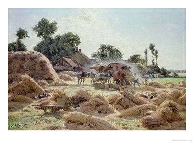 The Threshing Machine (Loiret) 1896