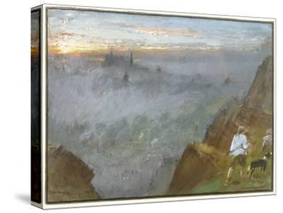 Edinburgh from Salisbury Crags, 1917