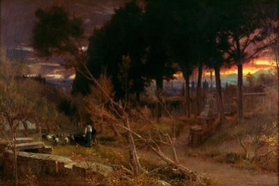 Florence, Evening, 1896