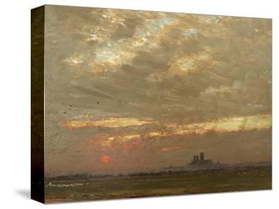 Lincoln Cathedral at Sunset, 1912