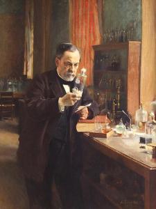 Louis Pasteur by Albert Gustaf Aristides Edelfelt