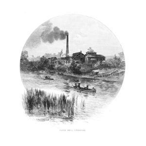 Paper Mill, Liverpool, New South Wales, Australia, 1886 by Albert Henry Fullwood