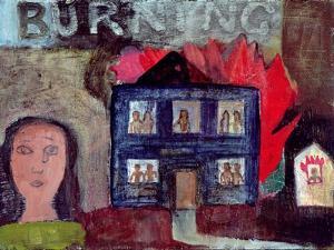 Lot's Wife Looks Back (Burning), 1991 by Albert Herbert