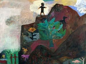 The Mountain, 1991 by Albert Herbert