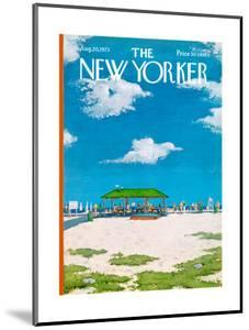 The New Yorker Cover - August 20, 1973 by Albert Hubbell